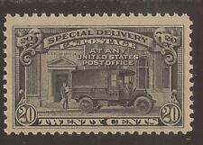 Us Sc# E14 Mnh 20c Special Delivery, 2 scans