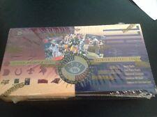 Factory Sealed 1996 Leaf Football Hobby Box, 18 Packs.