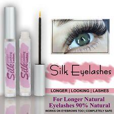 Eyelash Eyebrow Growth Serum Longer, Fuller, Enhanced 100% Natural silk Lashes.