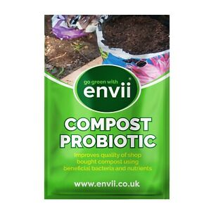 Envii Compost Probiotic - Organic Compost Activator Improver Contains Seaweed