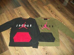NIKE JORDAN Sweaters X2 M Age 10-12 Unisex