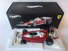 Hot Wheels Ferrari 312 T2 Niki Lauda winner Monaco Gp 1976 RUSH 1/18