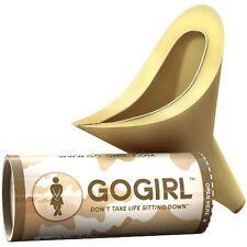 Go GIRL Female Urination Device FUD, Khaki Camo - Brand New