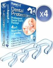 Neu 4 x Zahnschutz gegen Zähneknirschen & Schnarchen, Knirscherschiene | Auf