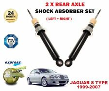 FOR JAGUAR S TYPE 2.5 2.7 3.0 4.0 R 4.2 1999-2007 2 REAR AXLE SHOCK ABSORBER SET