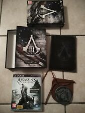 Assassin's Creed III 3 Edition Collector Join or die + Guide Strategique PS3