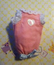 "Kelly Krissy Happy Kiddle Newborn Doll Baby Clothes *VHTF Pink ""K"" Bunting Gown*"