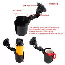 Car Windscreen Suction Cup Mount Drink Beverage Holder Bracket Cradle Adjustable