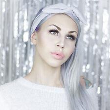 Light Grey Wire Headband - Dolly Bow
