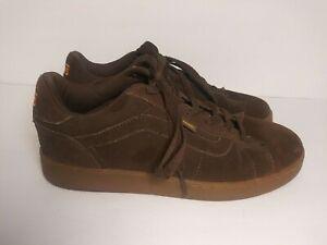 Vans Reiger Brown Suede Skateboard Shoes Men's 10.5