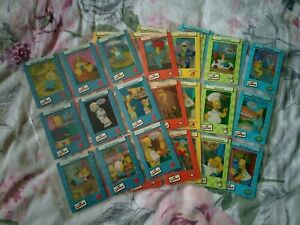 SIMPSONS  Filmcardz Complete Trading Card Set Film Cards Series 2 II 2003 Rare