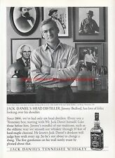 "Jack Daniels Tennessee Whiskey ""Head Distiller"" 1996 Magazine Advert #7510"
