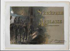 1890ca INGLESA DE SERENATA English piso score Giulio Recuerdos Edel Solanges