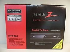 Zenith DTT901 Digital TV Tuner Converter Box / Remote / Cables