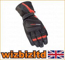 Gants noirs en cuir pour motocyclette taille XXL