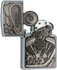Zippo Harley Davidson Motorcycle Engine& Parts Windproof Lighter 11799