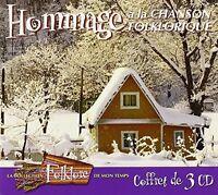 Folklore De Mon Temp - Hommage a la Chanson Folkloriq [New CD] Canada - Import