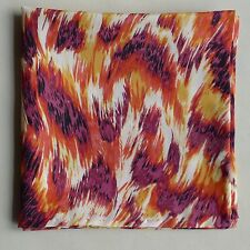 Flames Liberty of London silk pocket square
