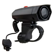 Ultra-loud Speaker Black Electronic Bicycle 6Sounds Alarm Bell Bike Siren Horn P