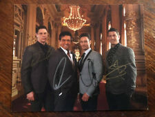 IL Divo autographed photo signed by 4 members