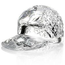 "(NIB) Waterford Crystal  3""  Baseball Hat Commenorative"