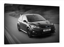 Ford Focus RS 500 - 30x20 Inch Canvas - Framed Picture Poster Print