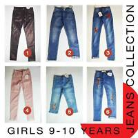Girls Jeans 9-10 Years Brand New MORE THAN 70% OFF (L60)