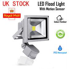 10W 20W Cool Warm White LED Security Floodlight Sensor Outdoor Flood Light Lamp