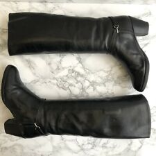 Russell & Bromley Boots Size UK3.5 EU36.5 Riding Boots Leather Knee High Boots