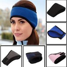 Fleece Headband Warm Hat Ear Muff Warmer Winter Ski Snowboard Mens Womens Ladies