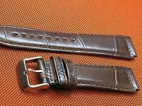 SPECIAL VINTAGE GENUINE LEATHER 20MM  WATCH BAND FITS VINTAGE CHRONOGRAPH WATCH