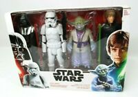 Star Wars Throne Room Duel-4Pack-Darth-Yoda-Luke Skywalker-Imperial Stormtrooper