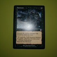 """Darkness x1 Time Spiral """"Timeshifted"""" 1x Magic the Gathering MTG"""