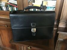 Dunhill London tradition double document briefcase