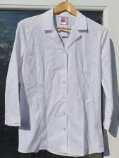 John Lewis White Girls School Blouse 3/4 Sleeve '40