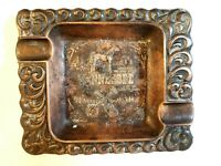 Vintage Tennessee Walking Horse Brass Ashtray