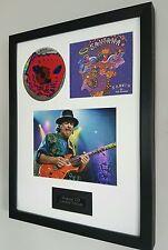 Santana Smooth-Framed Original CD-Limited Edition-Certificate-Superb Gift