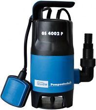 GÜDE GS 4002 P Schmutzwasser Tauchpumpe mit var. Schwimmerschalter 94630 NEU
