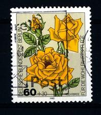 GERMANY-BERLIN - GERMANIA-BERLINO - 1982 - Beneficenza. Rose
