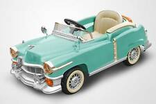 Kids 12v Car Ride On Cadillac Style Power In Original Blue Remote Control Cady