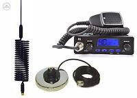 CB RADIO TTI 550 + CB ANTENNA SPRINGER BLACK + MAGNES BASE CB STARTER KIT EU UK