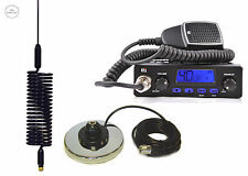 Radio CB TTI 550 + ANTENNA CB Springer nero + magnes Base Cb Starter Kit EU UK