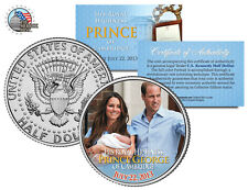 ROYAL BABY *PRINCE GEORGE of CAMBRIDGE* WILLIAM & KATE JFK HALF DOLLAR COIN!!