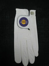 Los Angeles Lakers Links Walker Premium Medium -  Large ML Left Hand Golf Glove