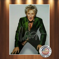 Rod Stewart Autographed Signed 8x10 Photo REPRINT