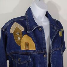 Size Small S or M Vintage Blue Jean Jacket by MOST WANTED Teacher Christmas Gift