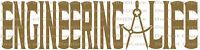 Engineering Life Compass Caliper Vinyl Decal Sticker Car auto Engineer