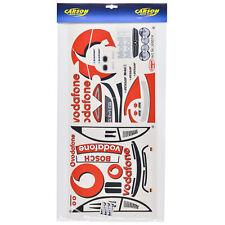 Decal Sheets 1:10 MERCEDES BENZ CLK Vodafone DTM Sticker Carson 69074 800019