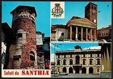 AD0758 Vercelli - Provincia - Santhia - Vedute