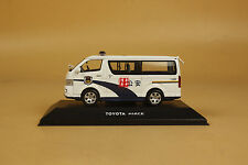 1/43 Toyota new hiace police car diecast model